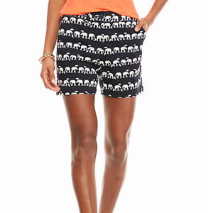 Crown and Ivy Elephant in the Rain Printed Shorts